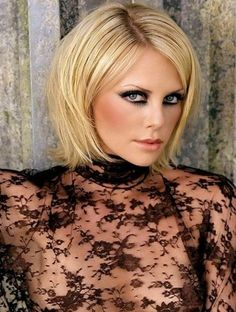 Cool Short Layered Blond Hairstyle