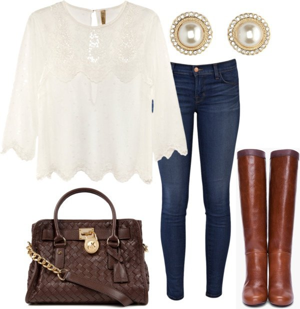 Cozy Outfit Idea for Fall