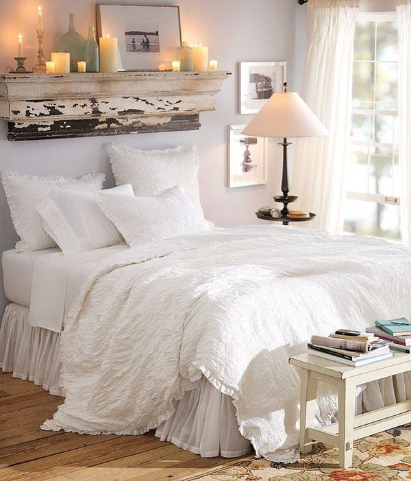 10 headboard ideas for fall pretty designs - Above the headboard decorating ...