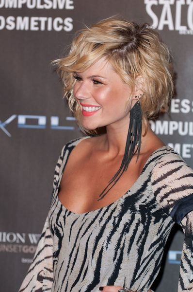 Curly Bob for Kimberly Caldwell Hairstyles