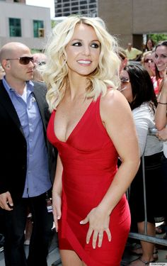 Curly Wavy Blond Hair for Britney Spears Hairstyles