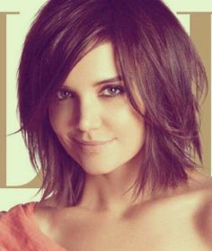 Cute Short Layered Blond Hairstyle