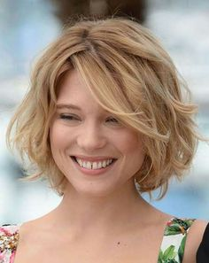 Cute Short Wavy Hairstyle