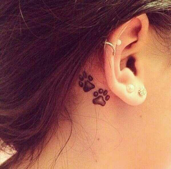 12 cute tattoo designs you must love pretty designs for Cute tattoos behind the ear