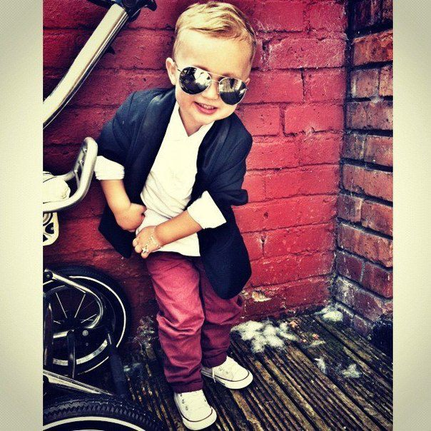 Cute and Chic Outfit Idea for Children