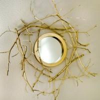 DIY Branch Mirror