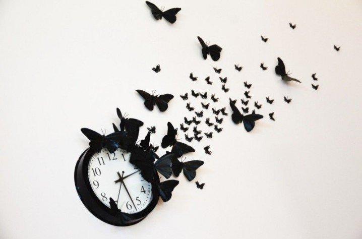 DIY Clock Decoration
