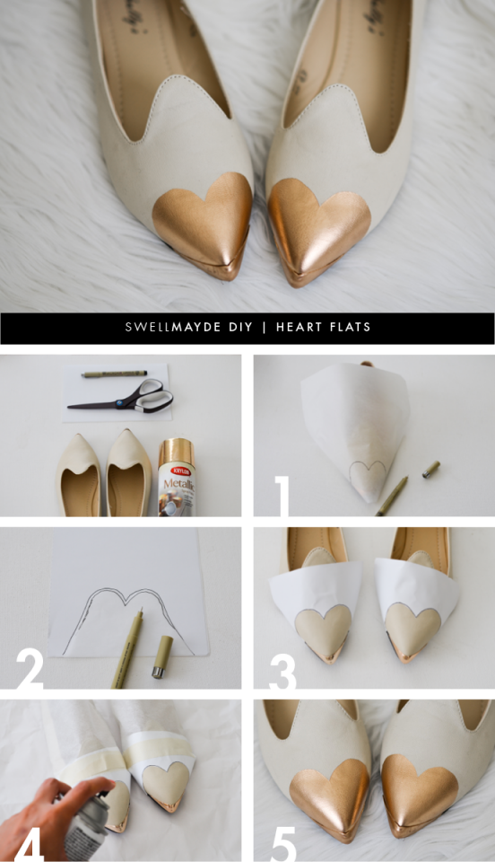 DIY Ideas to Beautify Your Shoes - Pretty Designs