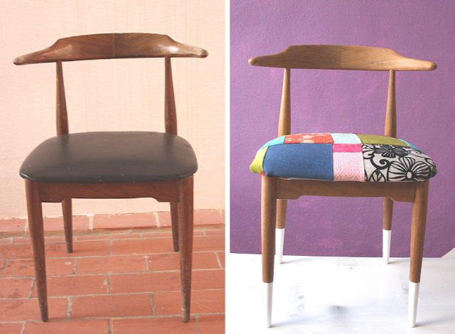 DIY Patchwork Chair