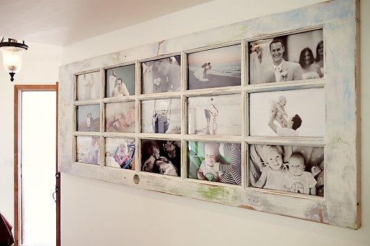 DIY Photo Frame with A Door