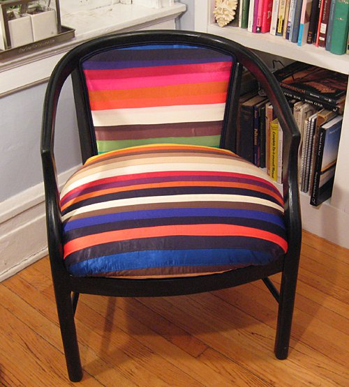 DIY Ribbon Chair