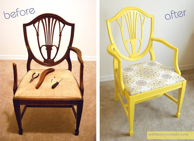 DIY Side Chair
