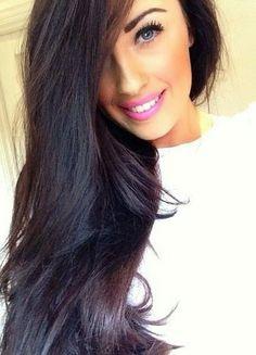 14 Wonderful Dark Colored Hairstyles | Pretty Designs