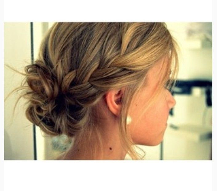 Cute Braided Bun Hairstyles For Short Hair : Charming bun hairstyles with tutorials pretty designs