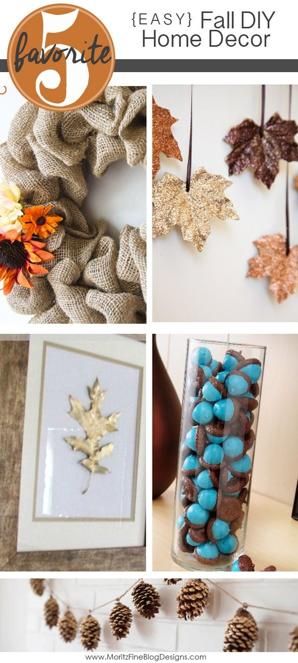 Easy Fall Home Decorations
