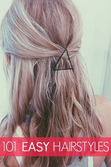 20 Simple and Easy Hairstyles for Your Daily Look - Pretty Designs