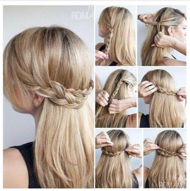 Easy Hair Up Tutorials | Hair Color Ideas and Styles for 2018