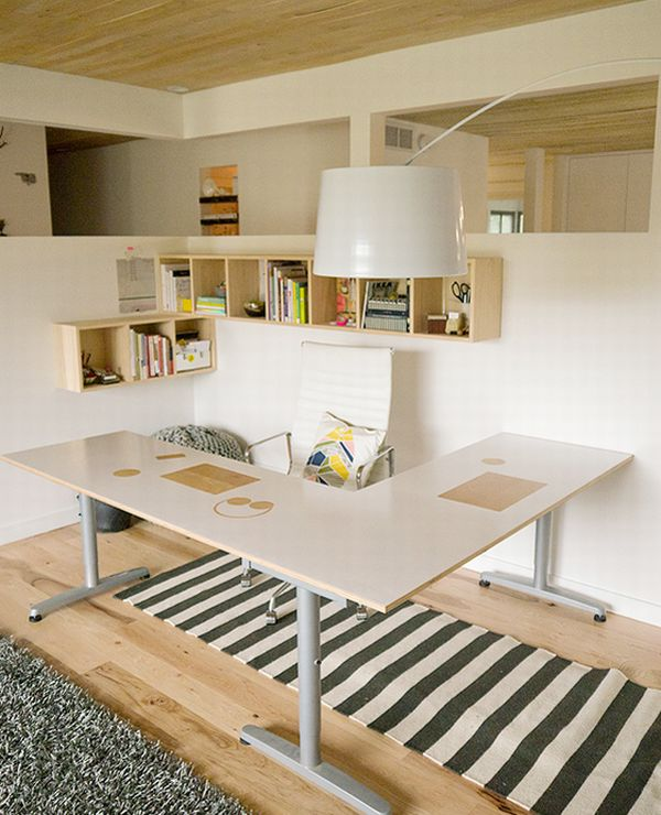 Simple Home Design Ideas: 12 Home Office Designs For You To Make A Better Work Place