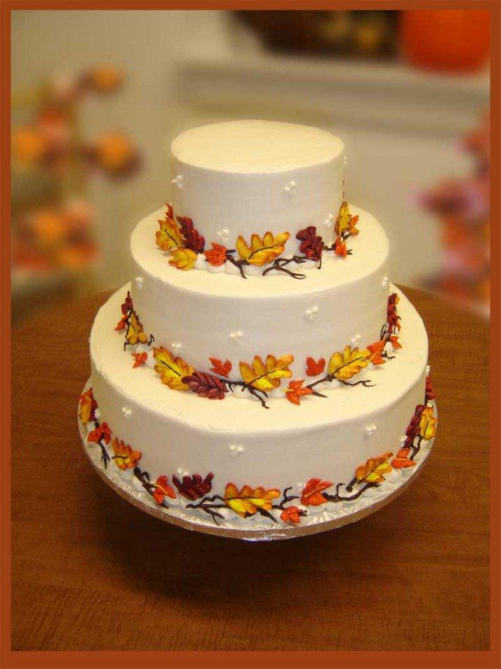 Easy Wedding Cake