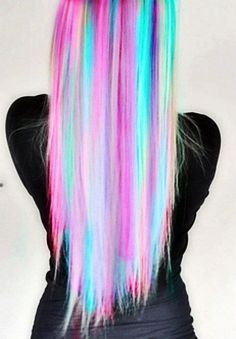 Fabulous Rainbow Hairstyle
