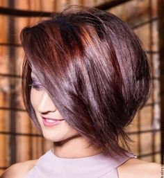 Fabulous Stacked Bob Haircut