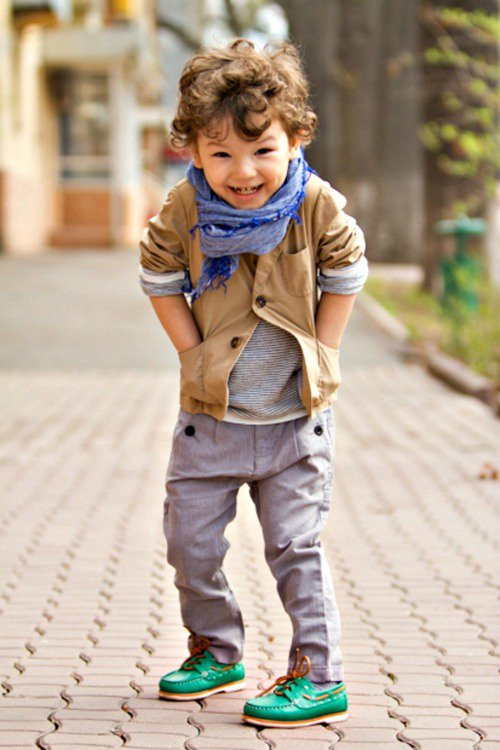 Fall Outfit Idea for Little Boy