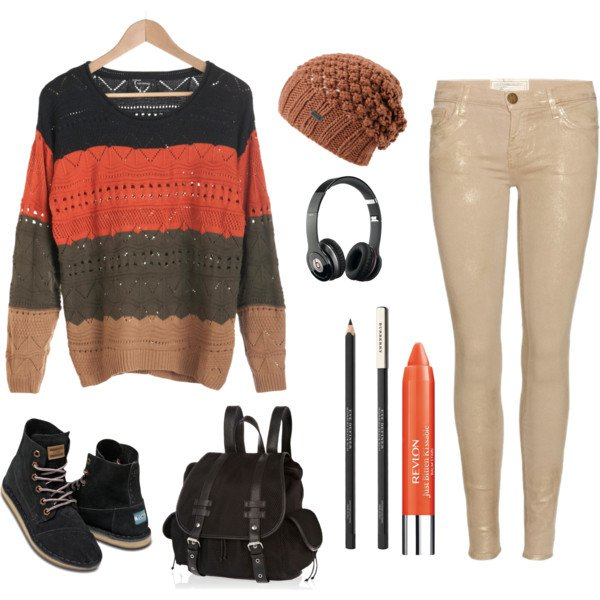 Fall Outfit Idea with Sweater