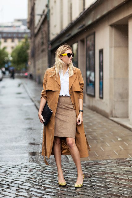 Fashionable Brown Outfit Idea for Fall