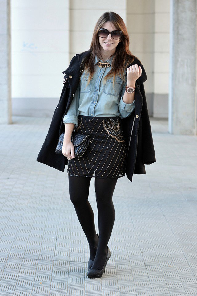 Fashionable Outfit Idea for Early Fall