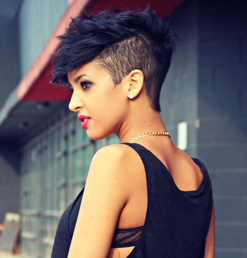 Funky Undercut Hairstyle