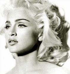 Glowing Blond Hair for Madonna Hairstyles