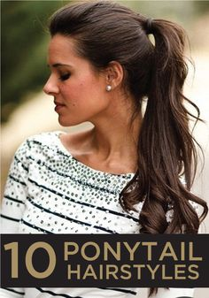 Great Ponytail Hairstyle