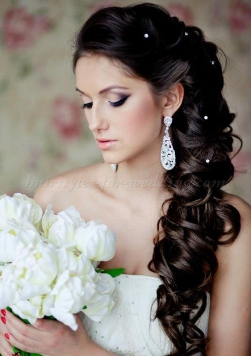 16 Overwhelming Half Up Half Down Wedding Hairstyles Pretty Designs