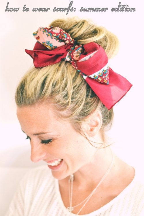 How To Use Bandana To Create A Holiday Look Pretty Designs