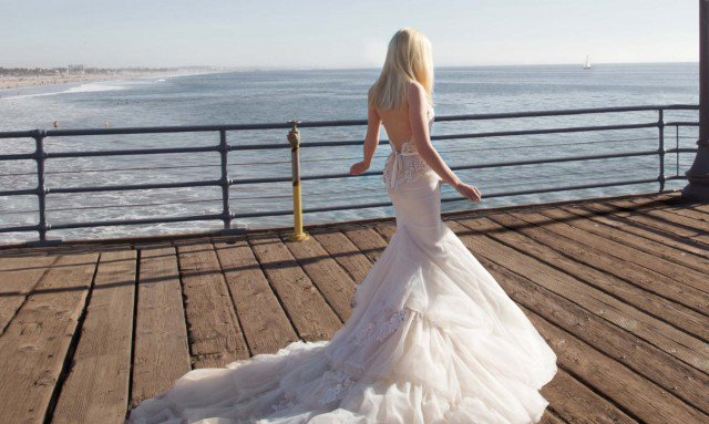 Inbal Dror Backless Wedding Dress