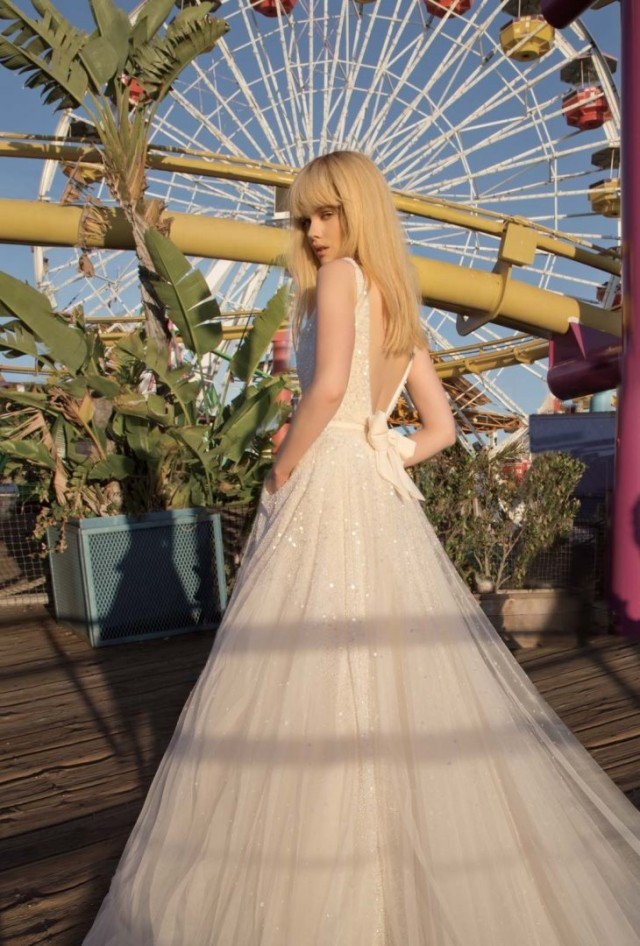 Inbal Dror Lovely Wedding Dress
