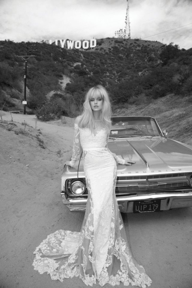 Inbal Dror Stylish Wedding Dress