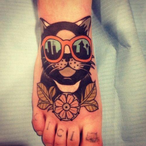 Instep Tattoo