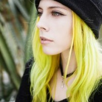 Long Layered Yellow Hairstyle