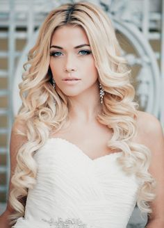 12 Glamorous Long Curly Hairstyles - Pretty Designs
