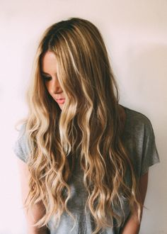 Long Hairstyle With Beach Waves