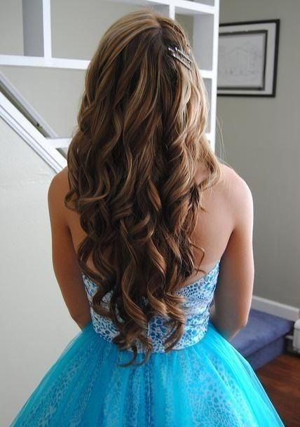 Long Wavy Hair for Wedding Hairstyles