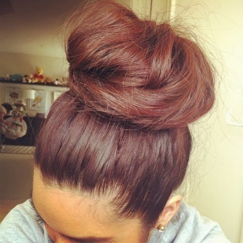 Hairstyles For Long Hair Knots : Loose Hair Knot for Long Hair via