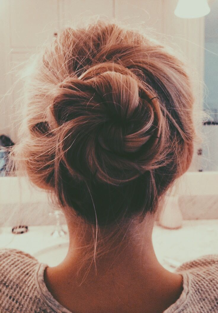 Cute Braided Bun Hairstyles For Short Hair : Romantic messy hairstyles for all women pretty designs