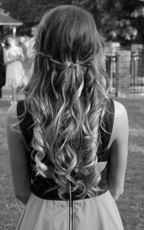 Lovely Half Up Hairstyle