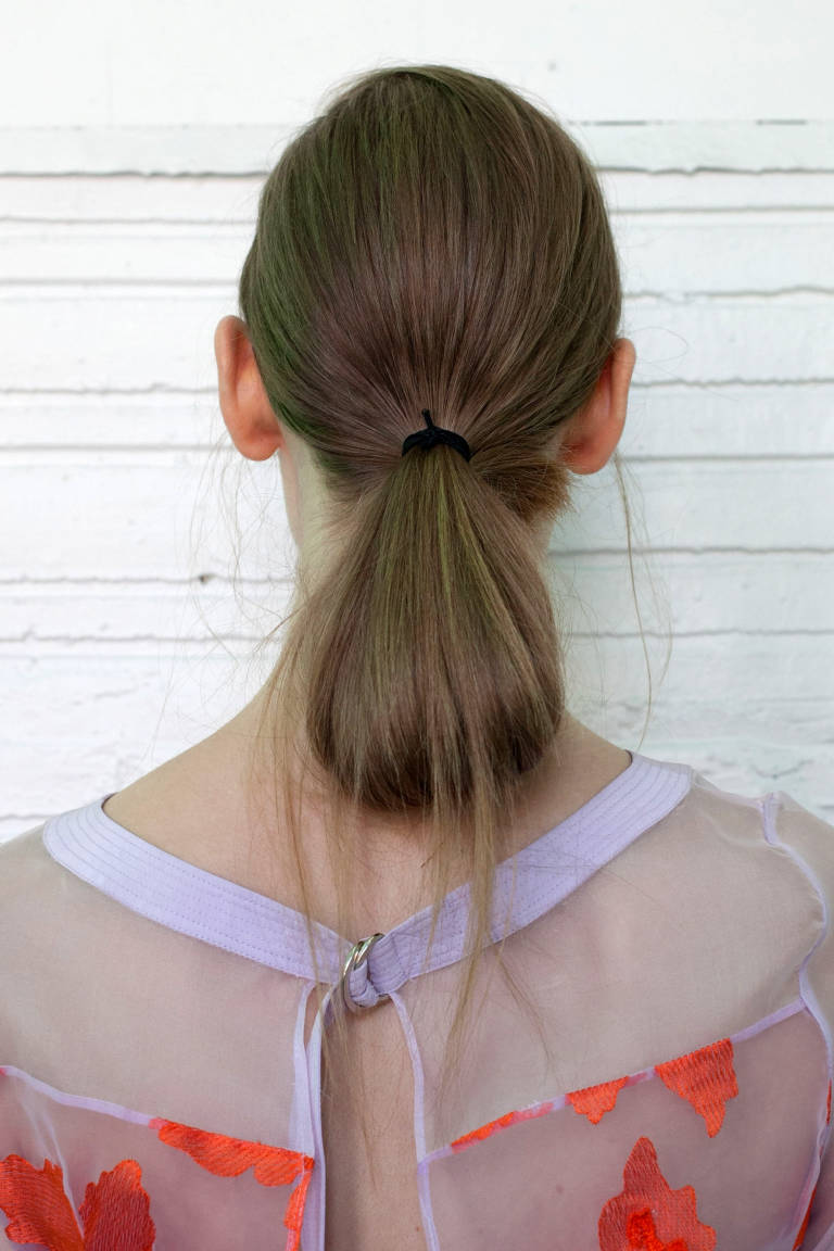 Lovely Ponytail Hairstyle
