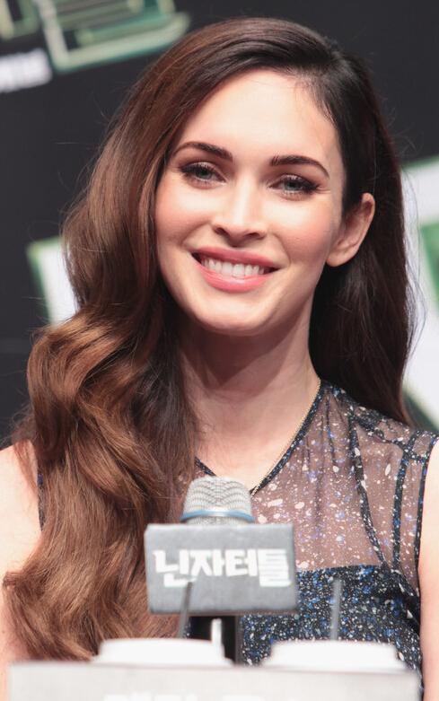 Megan Fox Long Curls