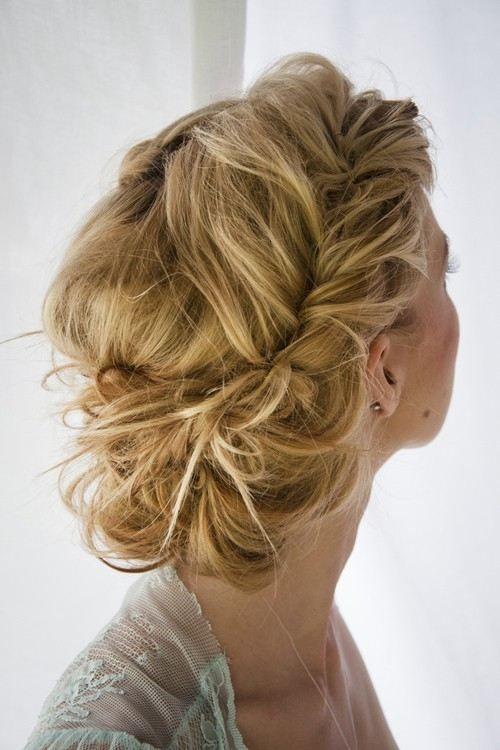Messy Crown Braided Hair