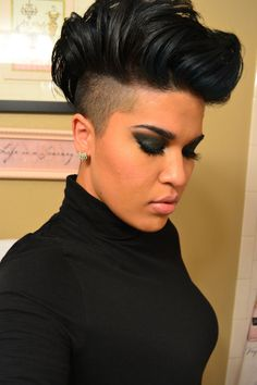 Mohawk Hairstyle for Black Hair