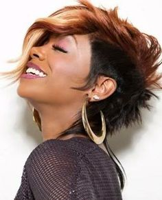Mohawk Hairstyle for Copper Hair